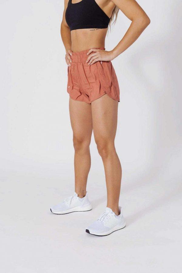 High Waisted Shorts W/ Liner, gym leggings