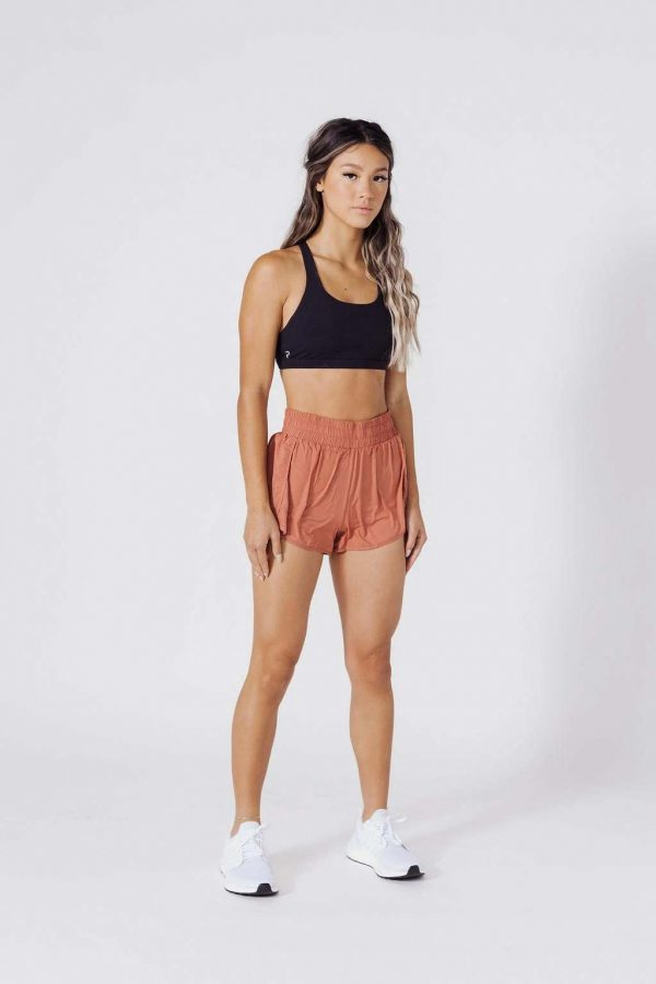 high waisted shorts w liner